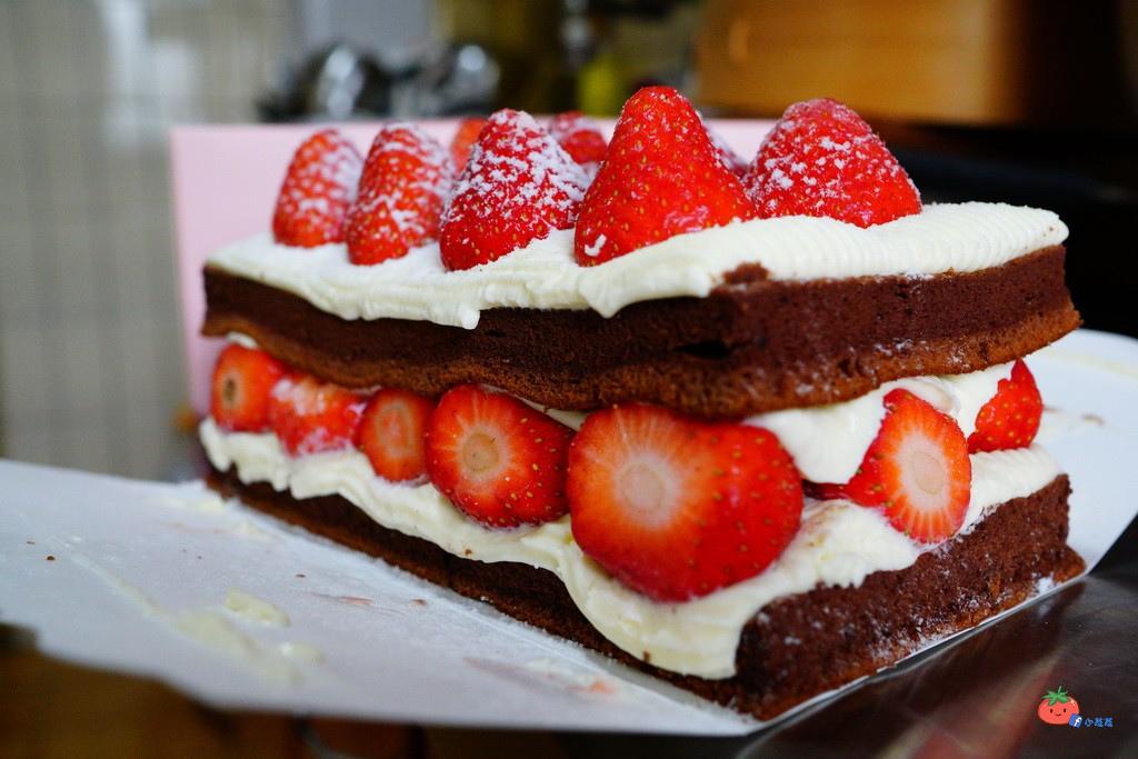 士林排隊蛋糕 宣原草莓蛋糕