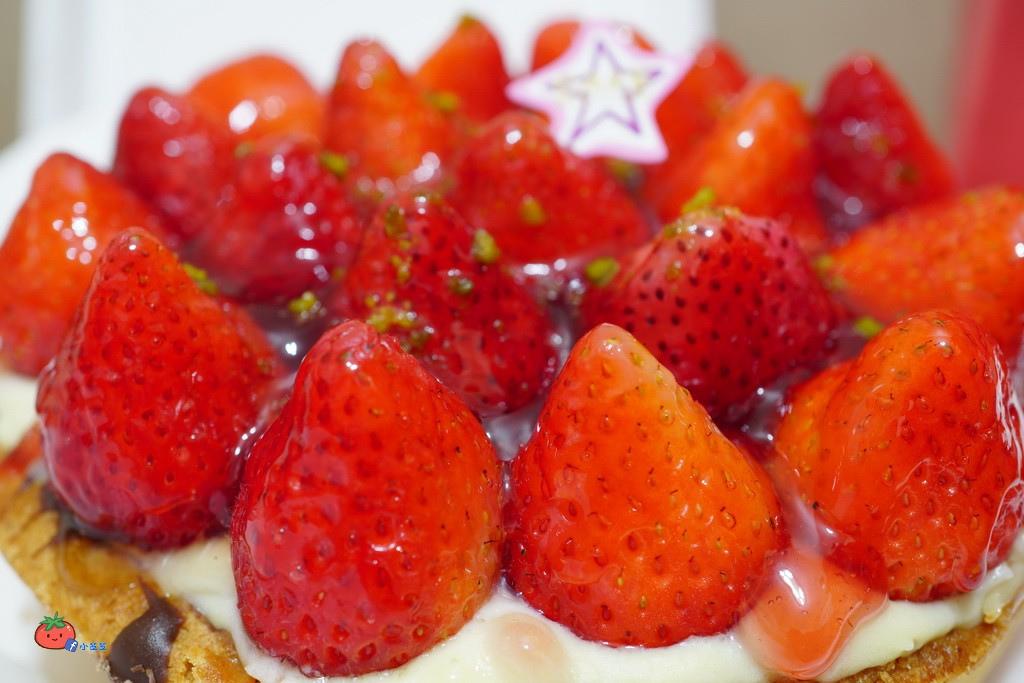台北車站~優仕紳烘焙館~草莓塔