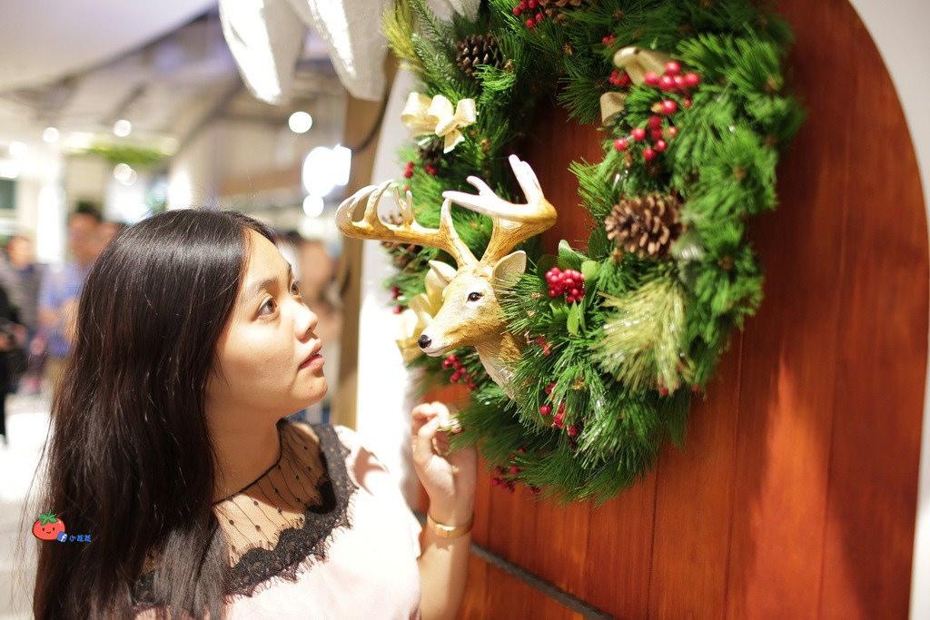 大江聖誕節2018 室內最大耶誕城下雪 聖誕老人拍照