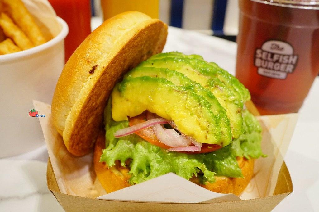 板橋大遠百美食 Selfish Burger 喀漢堡