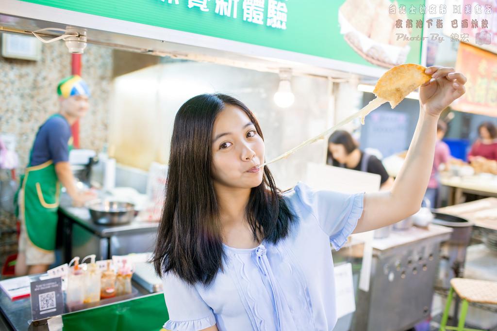 台北士林夜市地下街B1美食