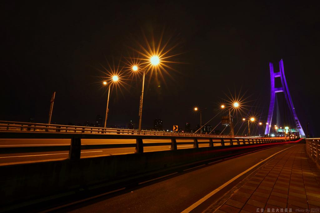 2014.11.06~三重新北大橋夜景隨拍