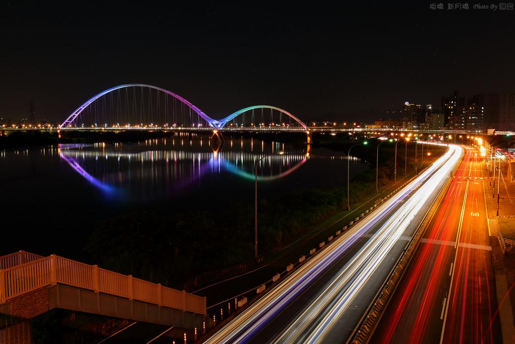 2015.06.28~板橋新月橋夜景隨拍
