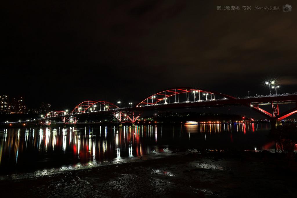2016.06.11~新北關渡橋夜拍