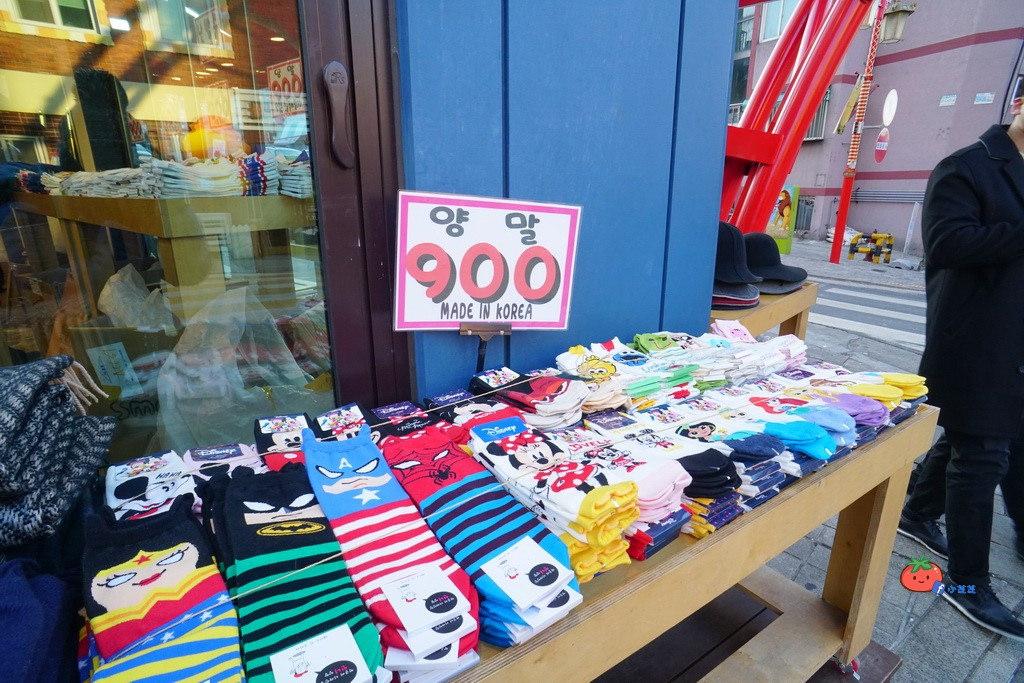仁川 松月洞童話村 買襪子買襪子