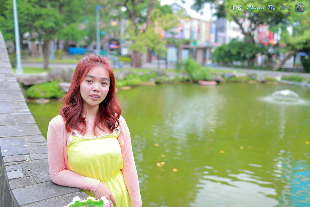 小芝~新髮色~台北228公園