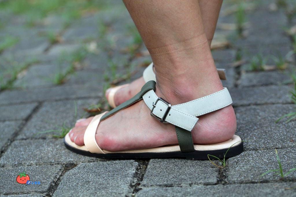 2017涼鞋 雜誌流行款 winean