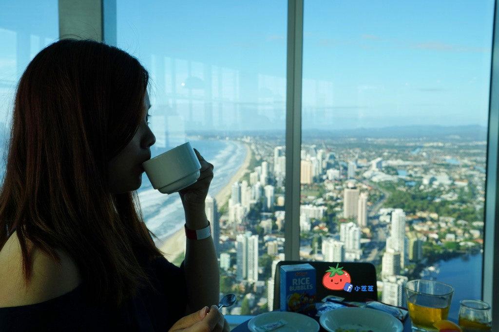 Q1 77樓觀景餐廳 早餐吃到飽