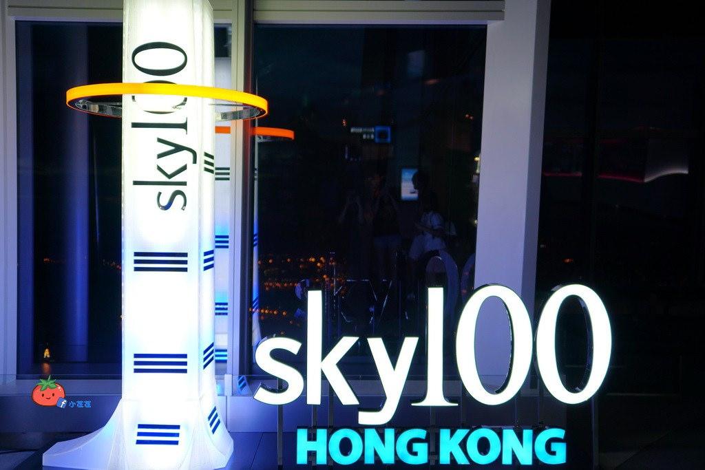 SKY天際100 維多利亞港夜景