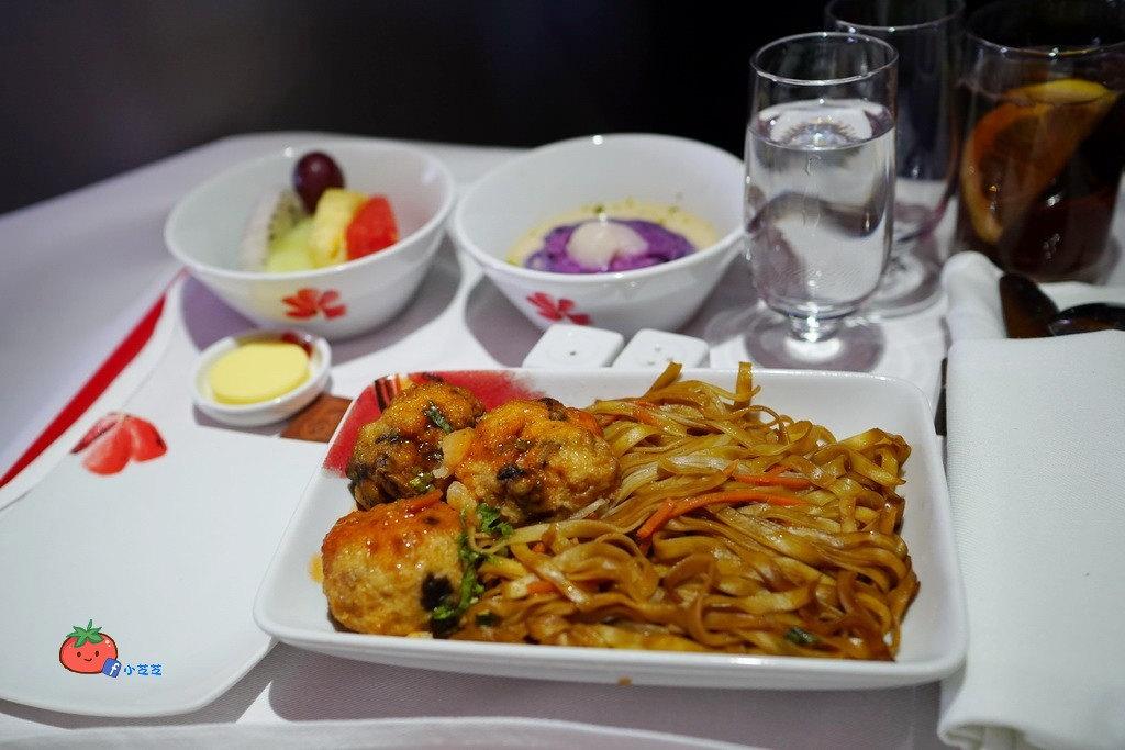 香港航空商務艙餐點 海景軒