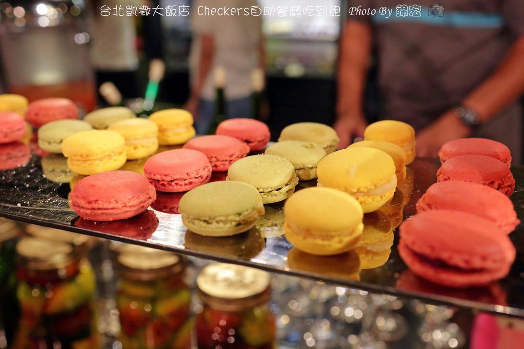2016.08.07~台北凱撒大飯店Checkers自助餐廳吃到飽